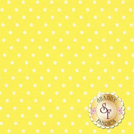 Polka Dot Basics C1820-Lemon by Timeless Treasures Fabrics