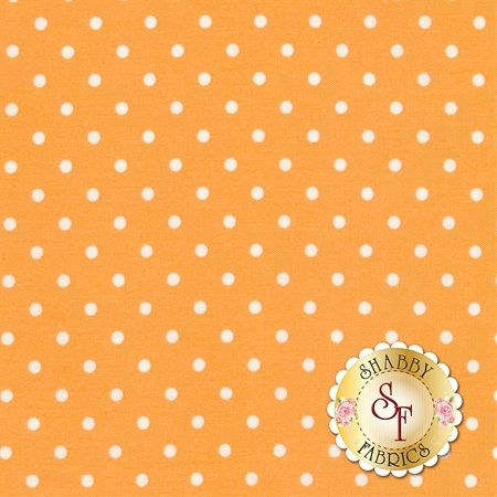 Polka Dot Basics C1820-Melon by Timeless Treasures Fabrics