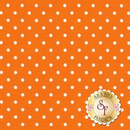 Polka Dot Basics C1820-Orange by Timeless Treasures Fabrics