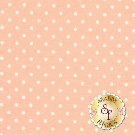 Polka Dot Basics C1820-Peach by Timeless Treasures Fabrics