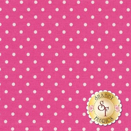 Polka Dot Basics C1820-Pink by Timeless Treasures Fabrics