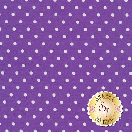 Polka Dot Basics C1820-Purple by Timeless Treasures Fabrics
