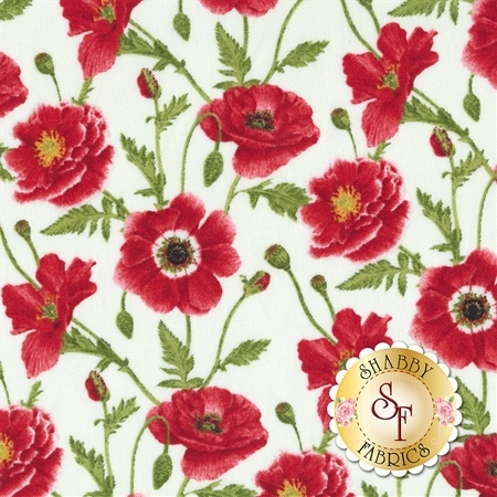 Poppy Perfection 1192-8 by Henry Glass Fabrics