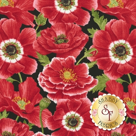 Poppy Perfection 1194-98 by Henry Glass Fabrics