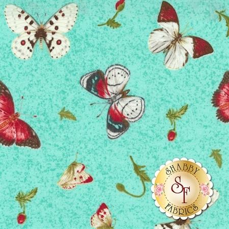 Poppy Perfection 1196-16 by Henry Glass Fabrics
