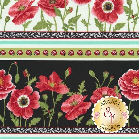 Poppy Perfection 1197-9 by Henry Glass Fabrics