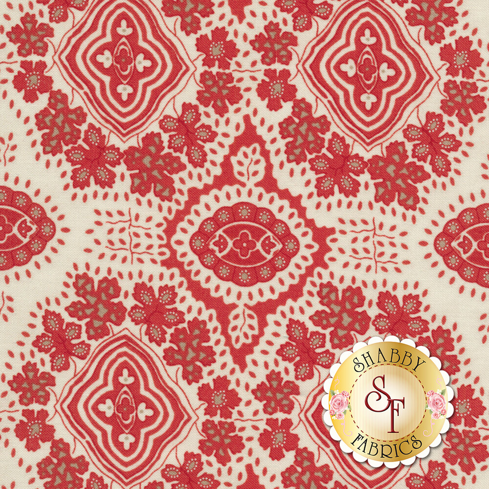 Portsmouth 14861-21 Stone Red by Minick & Simpson for Moda Fabrics