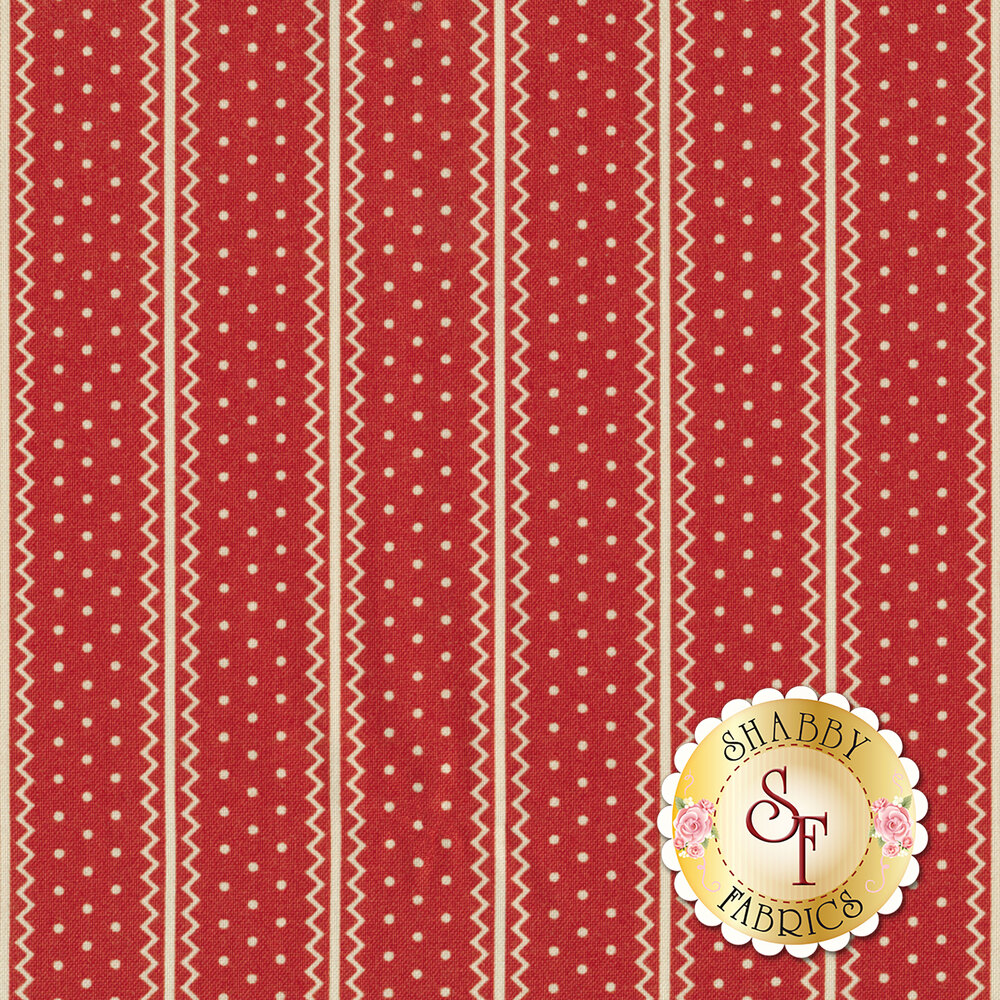 Portsmouth 14863-13 Red by Minick & Simpson for Moda Fabrics