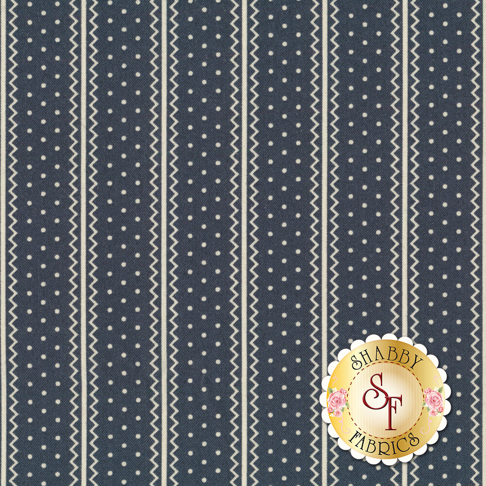Portsmouth 14863-16 Navy by Minick & Simpson for Moda Fabrics