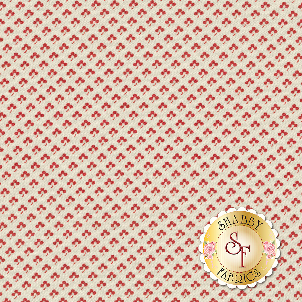 Portsmouth 14865-11 Red by Minick & Simpson for Moda Fabrics