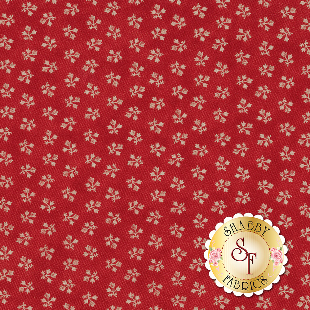 Portsmouth 14866-13 Red by Minick & Simpson for Moda Fabrics REM
