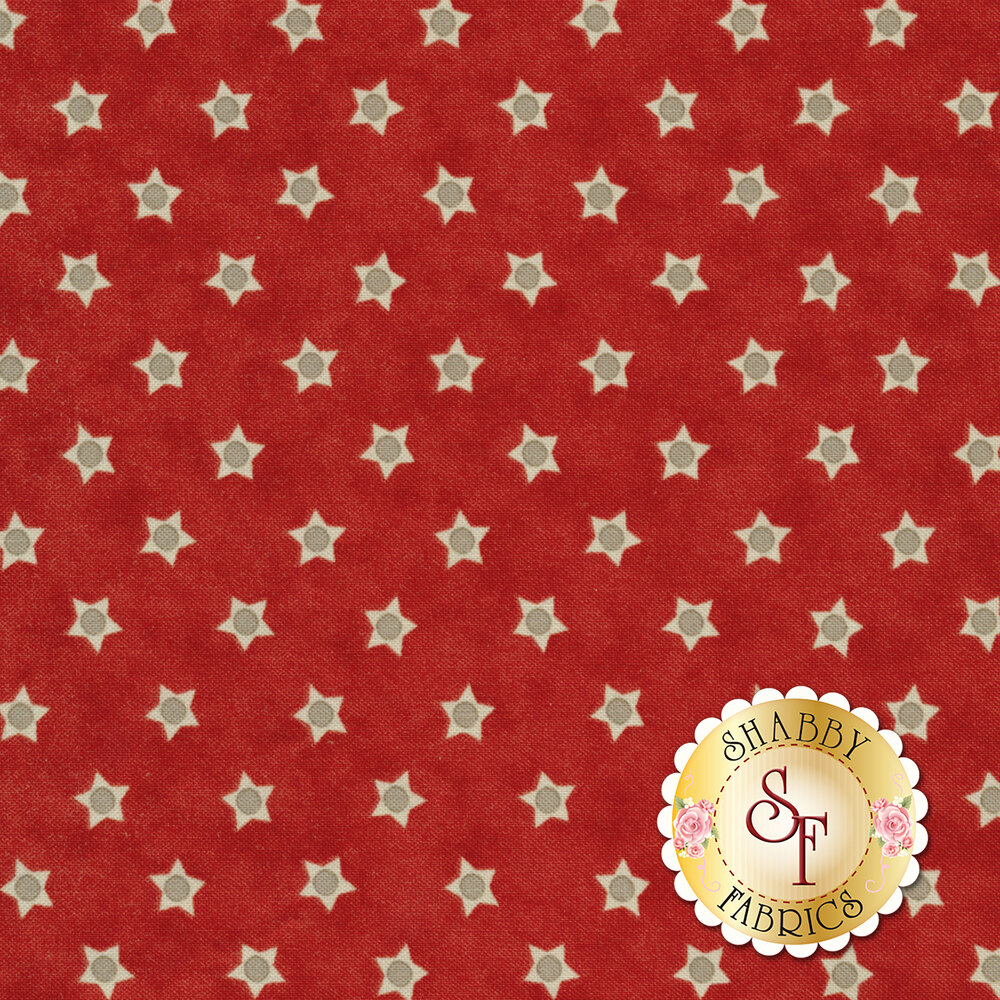 Portsmouth 14867-13 Red by Minick & Simpson for Moda Fabrics