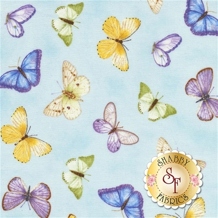 Pretty As A Pansy 1009-11 by Jane Shasky of Jane's Garden for Henry Glass Fabrics