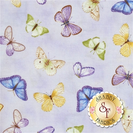 Pretty As A Pansy 1009-55 by Jane Shasky of Jane's Garden for Henry Glass Fabrics