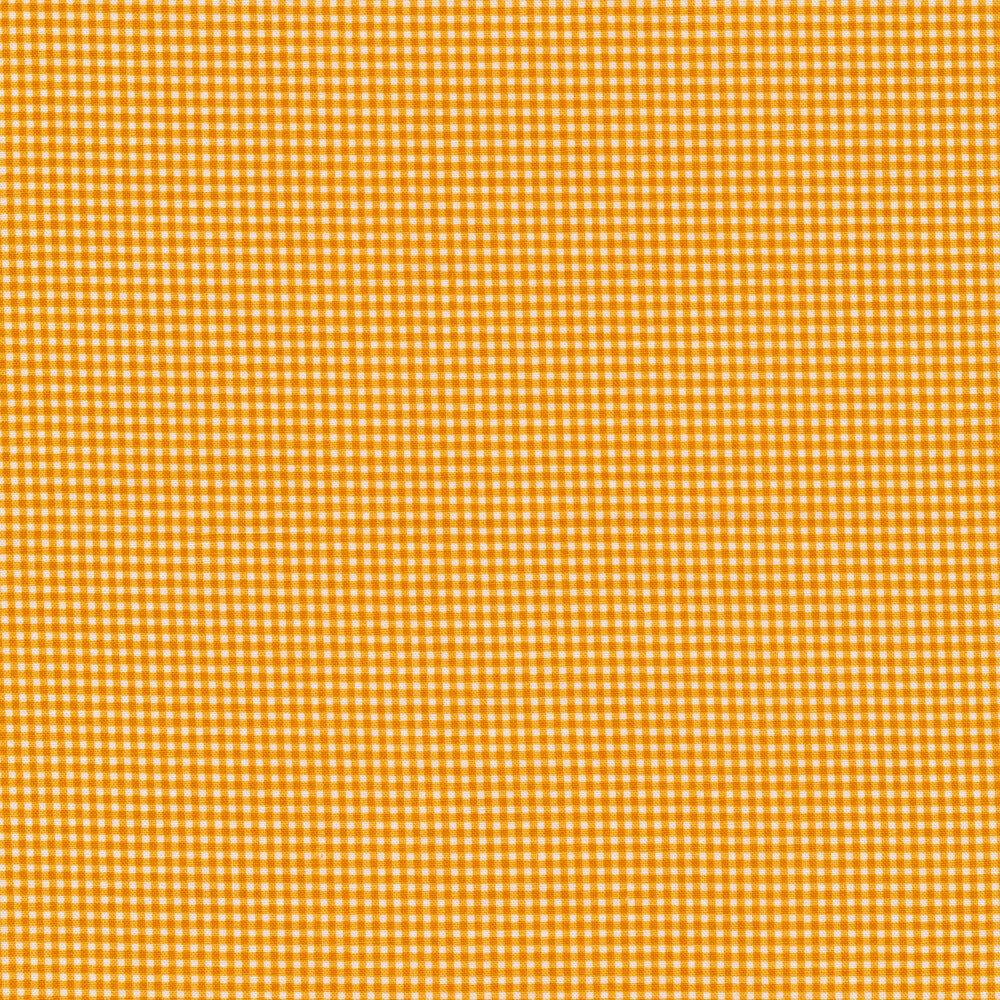 Classic yellow and white gingham print   Shabby Fabrics