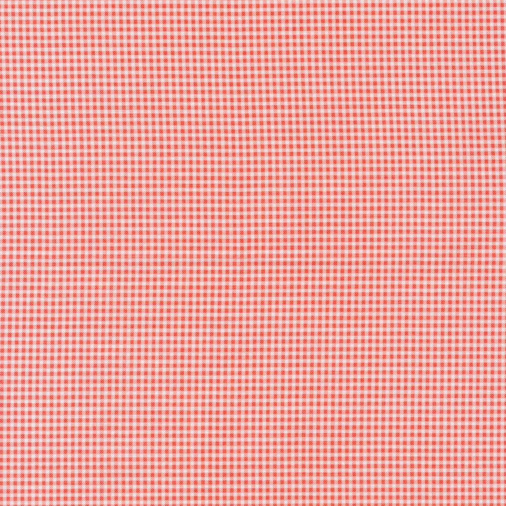 Classic pink and white gingham print | Shabby Fabrics