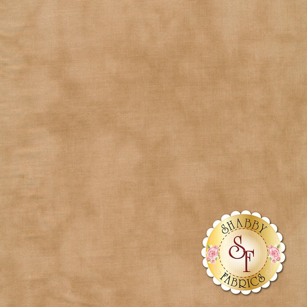 Mottled light brown muslin fabric   Shabby Fabrics