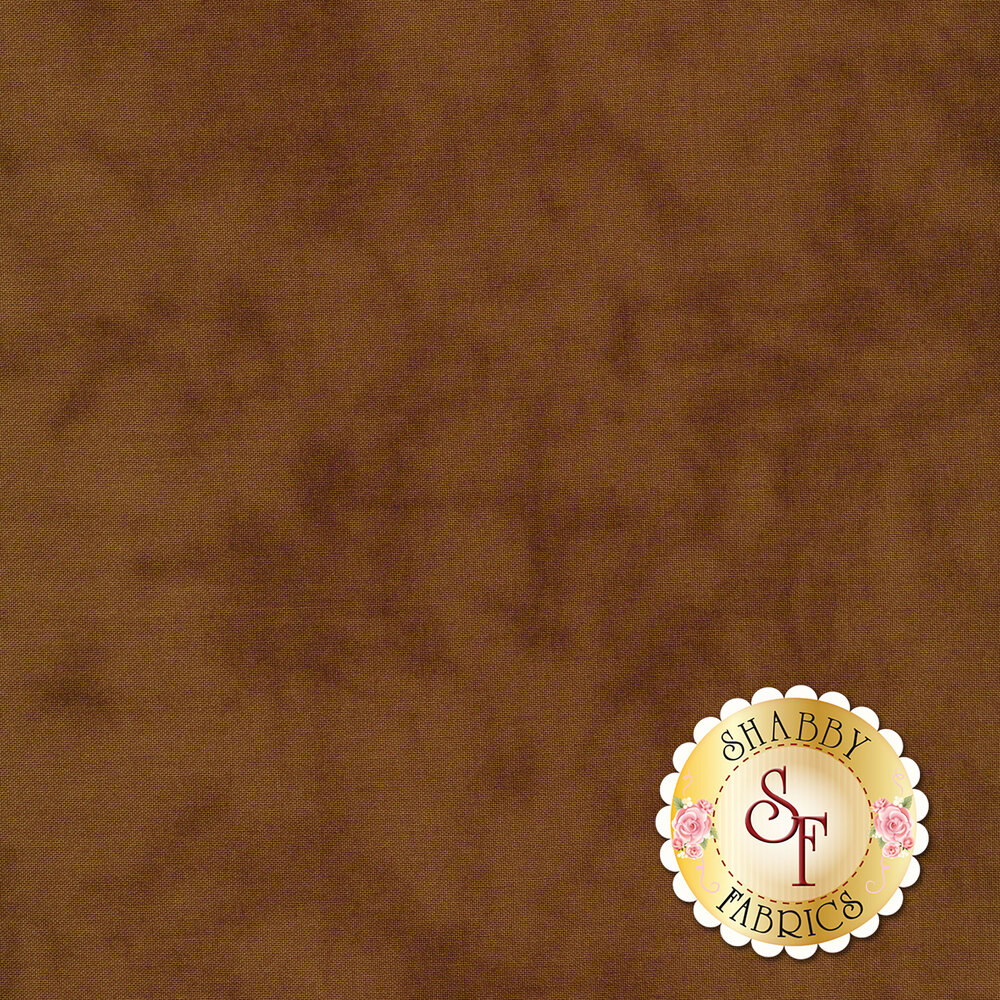 Mottled dark brown textured fabric | Shabby Fabrics
