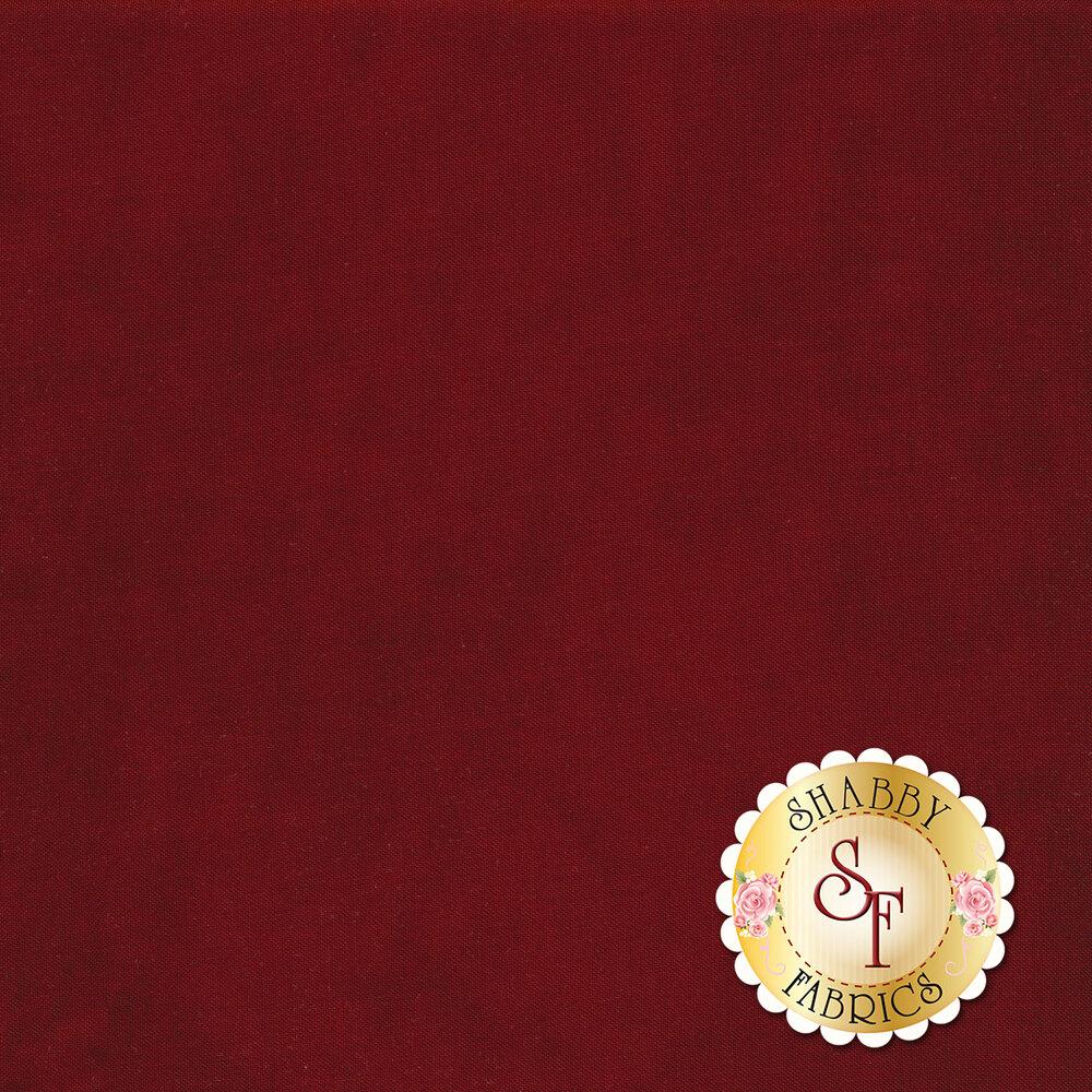 Mottled crimson textured fabric   Shabby Fabrics