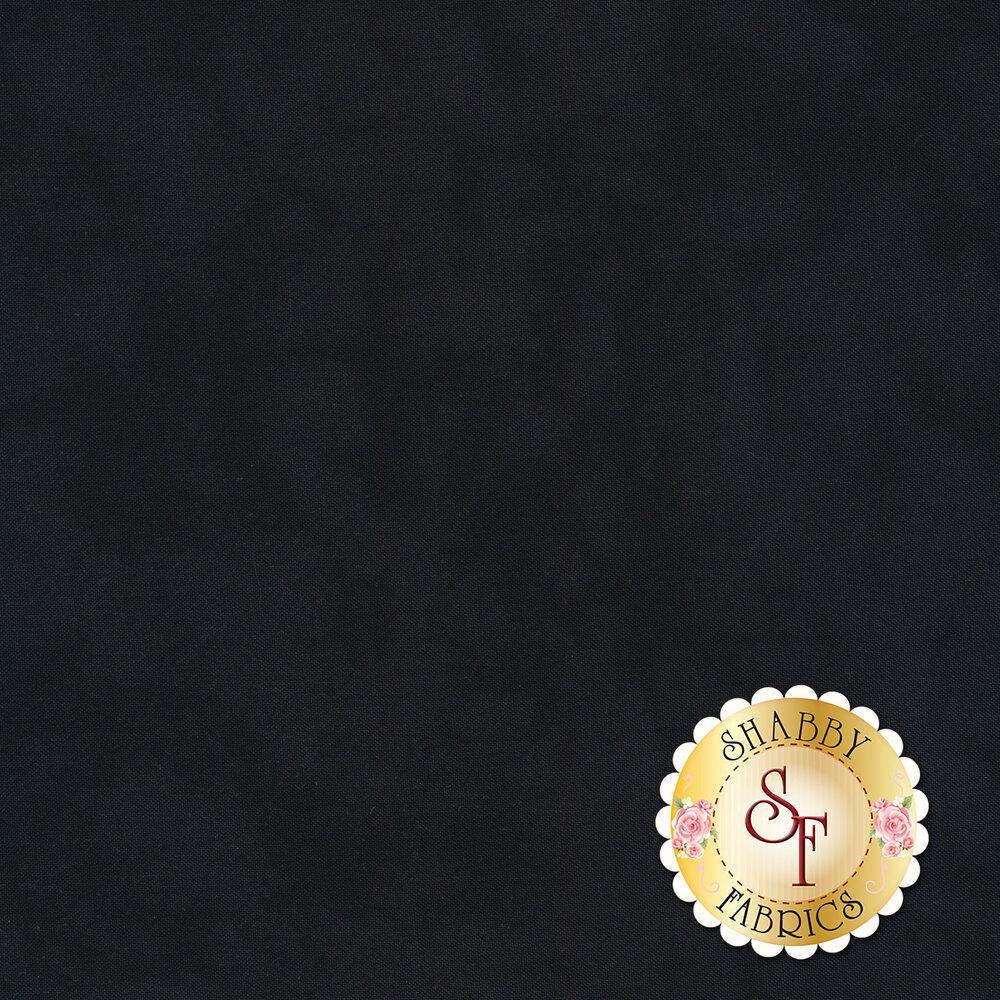 Mottled dark navy textured fabric | Shabby Fabrics