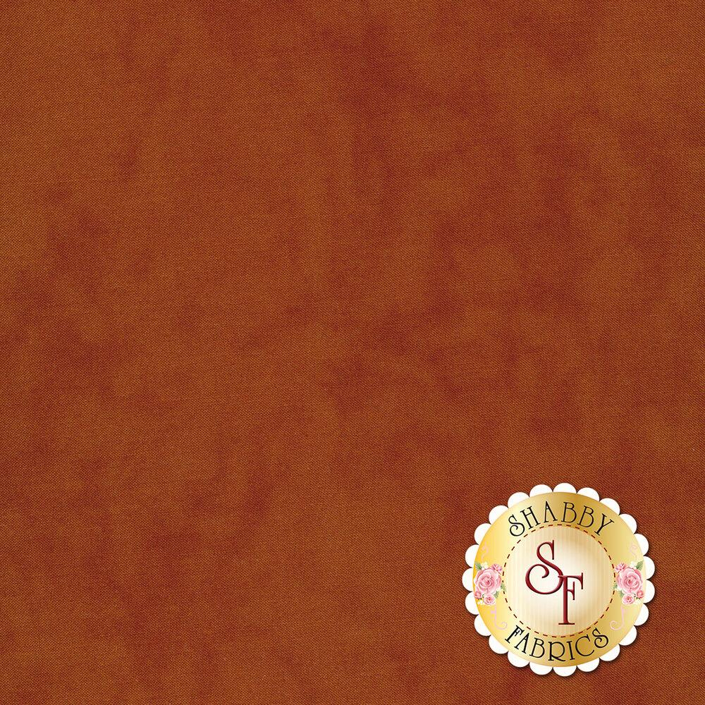 Mottled rust colored fabric | Shabby Fabrics