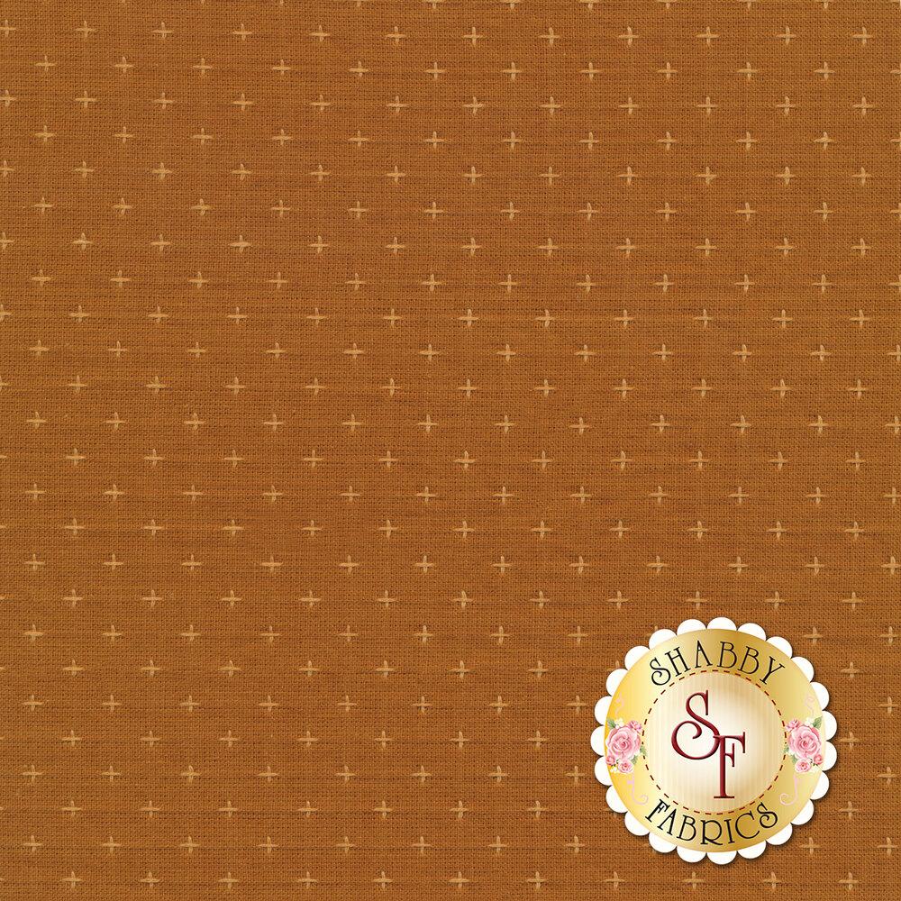 Small tonal bronze cross stitch pattern | Shabby Fabrics