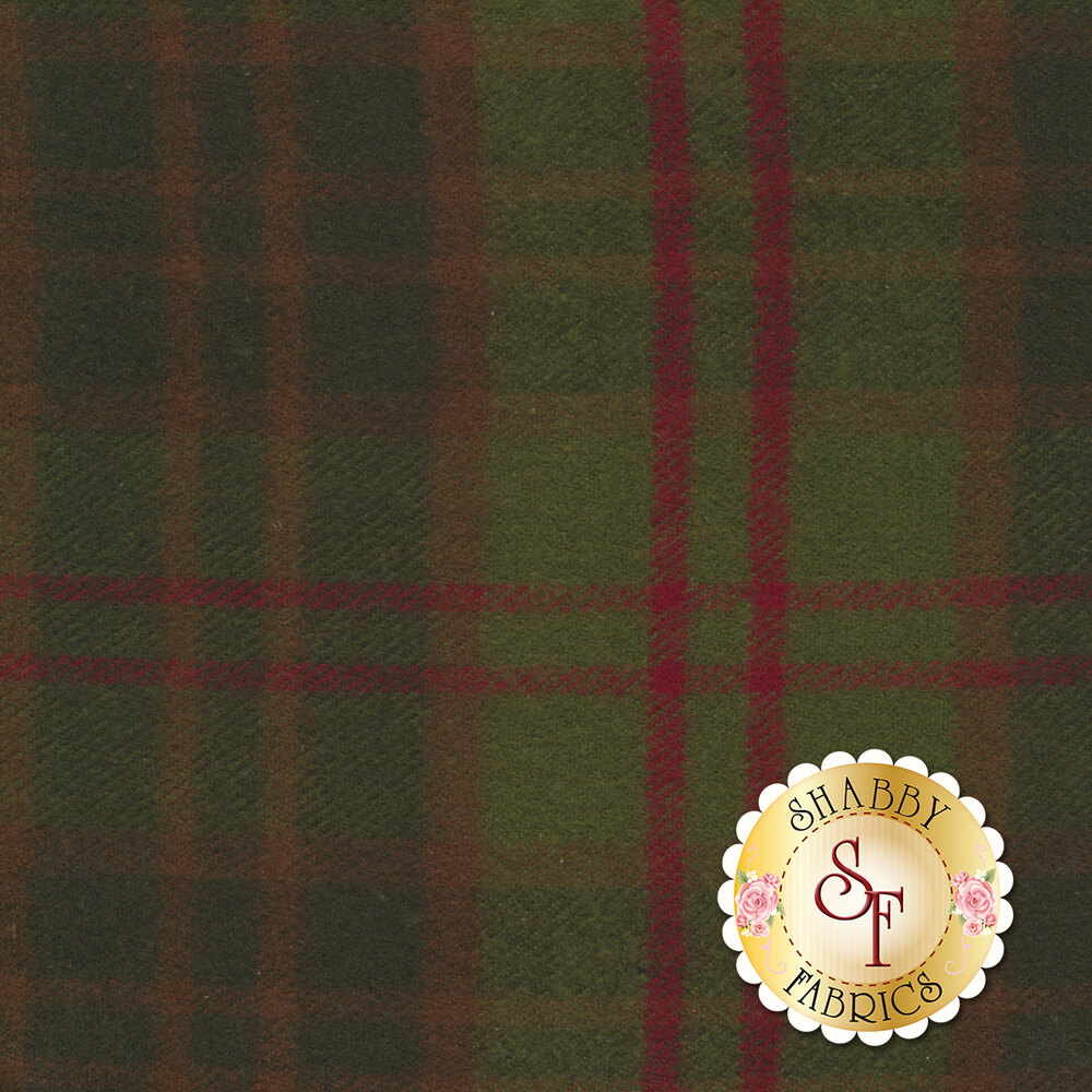 Primo Plaid Flannel J309-0114 by Marcus Fabrics