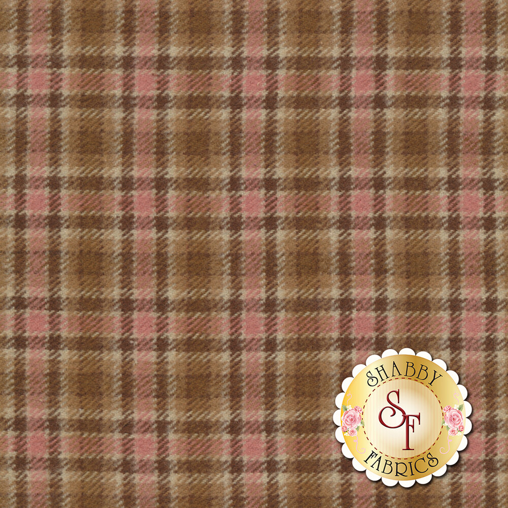 Primo Plaid Flannel U015-0113 Medium Check from Marcus Fabrics by Timeworn Toolbox Designs