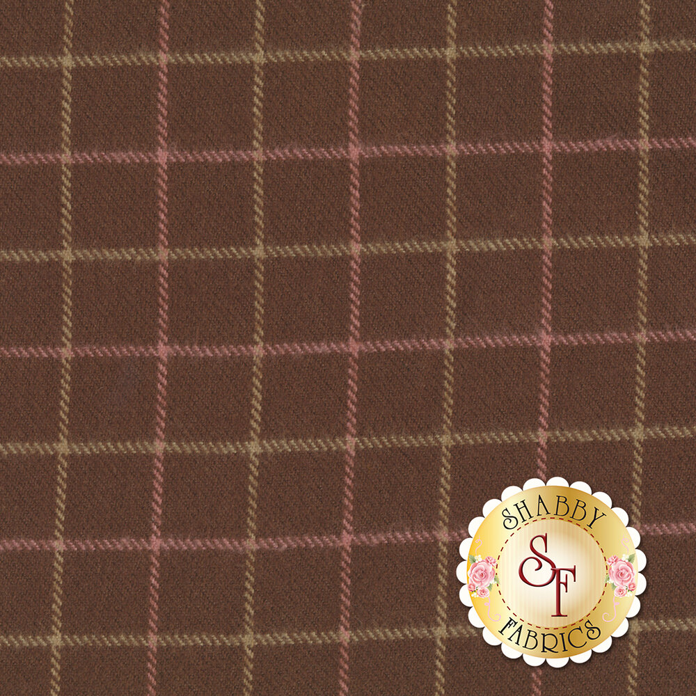 Primo Plaid Flannel U017-0113 Large Check from Marcus Fabrics by Timeworn Toolbox Designs
