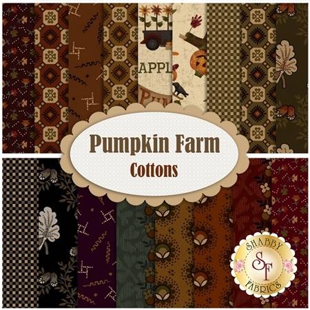 Pumpkin Farm Cotton  Yardage by Henry Glass Fabrics