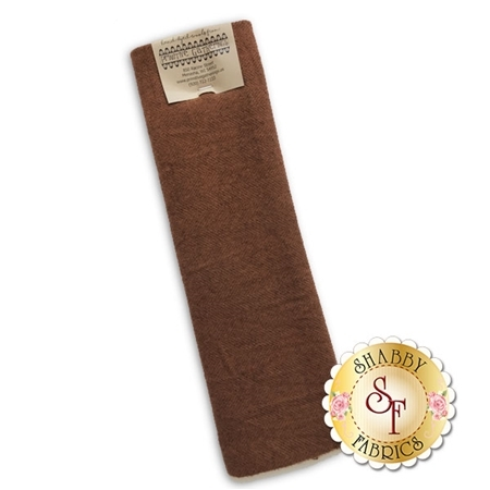Hand Dyed Wool PRI 5085 Pumpkin Herringbone by Primitive Gatherings for Moda Fabrics