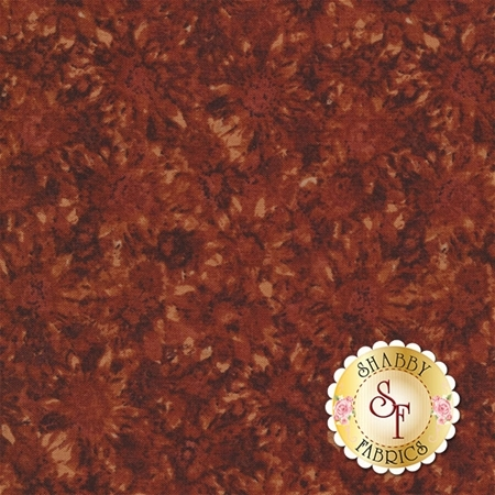 Pumpkin Patch 2774-87 Whispering Sunflowers Russet by Cheryl Haynes for Benartex Fabrics