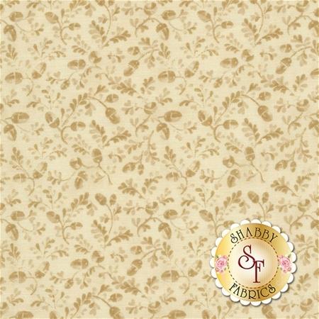 Pumpkin Patch 2776-07 Acorn Dance Cream by Cheryl Haynes for Benartex Fabrics