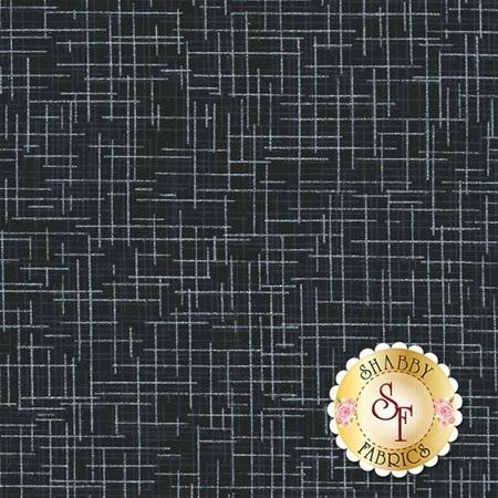 Quilter's Linen Metallic 14476-181 Onyx by Robert Kaufman Fabrics