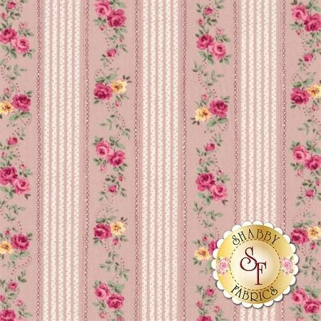 Ruru Bouquet Sweet Rose RU2330-16D by Quilt Gate Fabrics