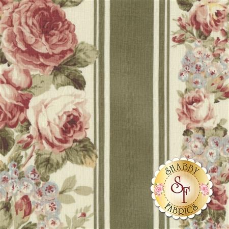 Ruru Bouquet Prima RU2260-12D by Quilt Gate Fabrics REM B