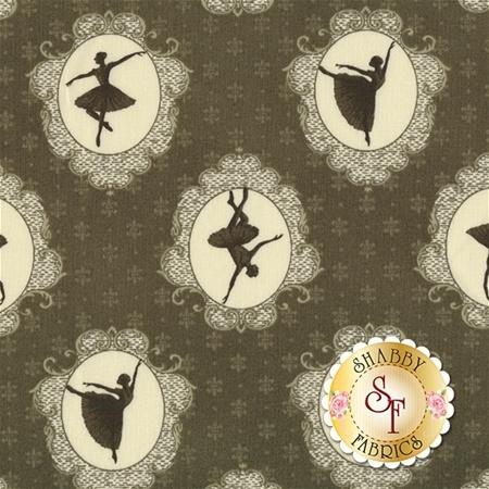 Ruru Bouquet Prima RU2260-14D by Quilt Gate Fabrics