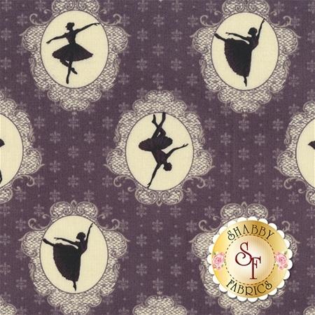 Ruru Bouquet Prima RU2260-14E by Quilt Gate Fabrics REM