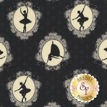 Ruru Bouquet Prima RU2260-14F by Quilt Gate Fabrics REM