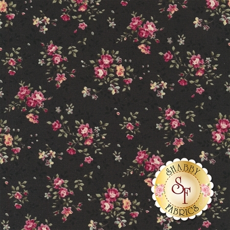 Ruru Bouquet Prima RU2260-17F by Quilt Gate Fabrics REM A1