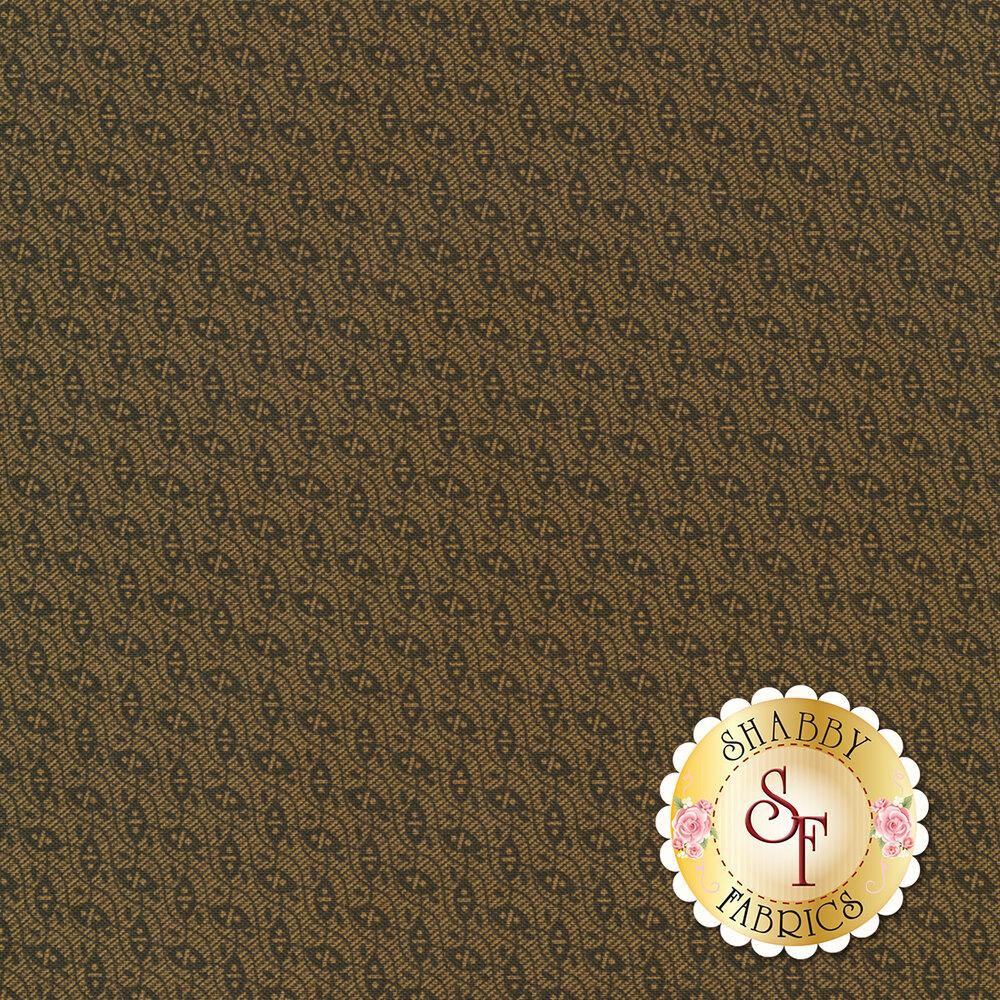 Gold and green design   Shabby Fabrics