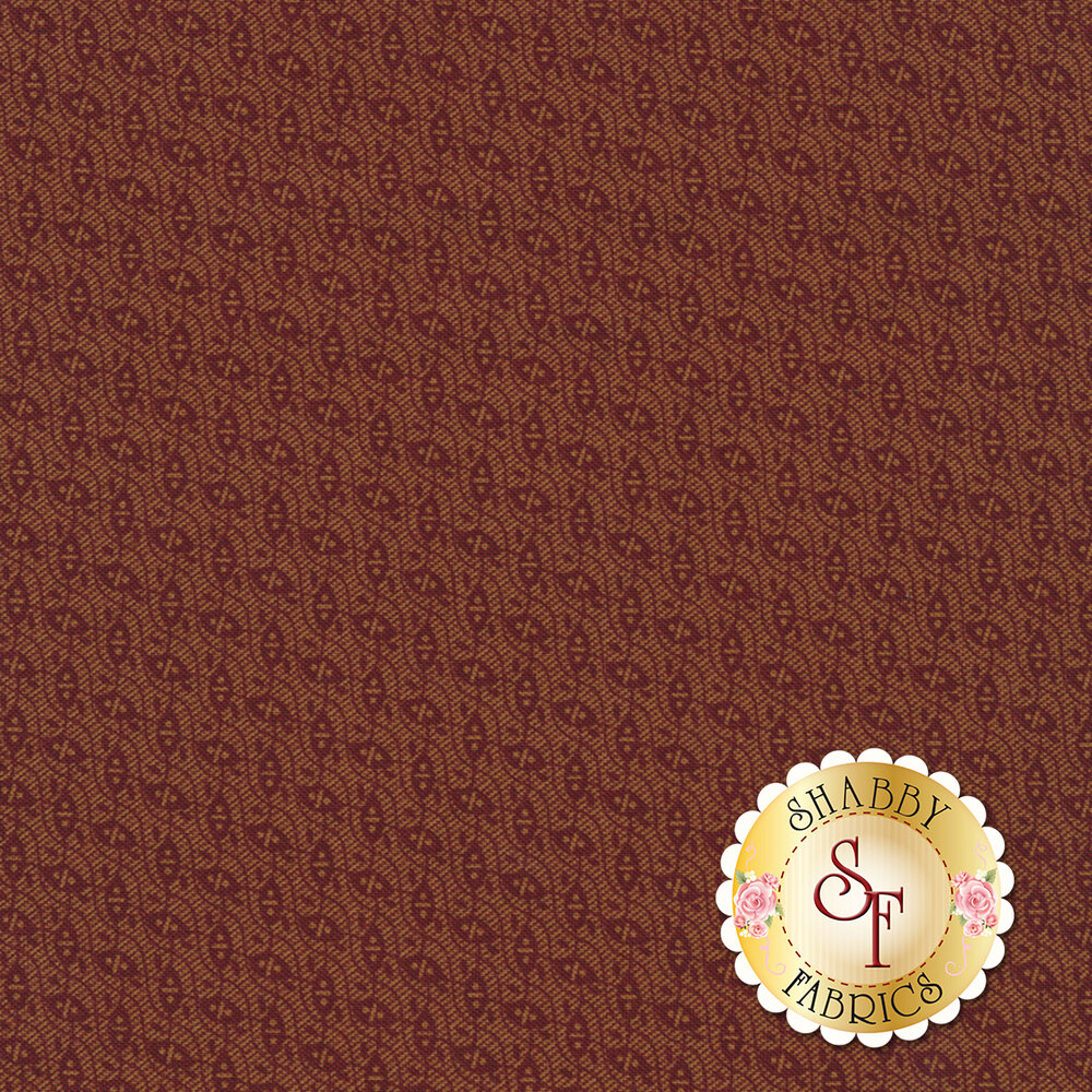 Gold and red design | Shabby Fabrics