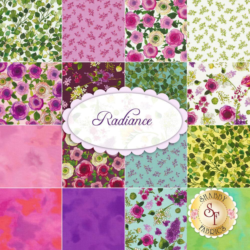The Radiance FQ set   Shabby Fabrics