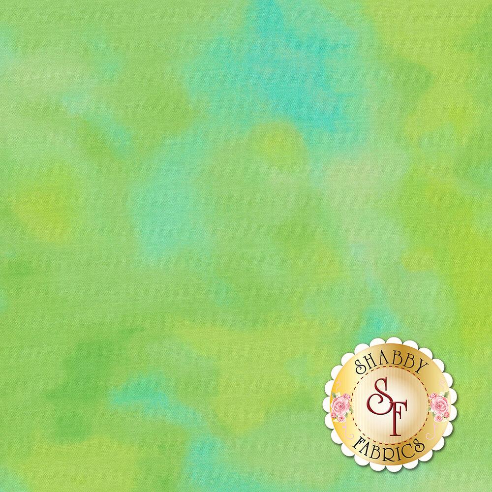 Mottled green fabric | Shabby Fabrics