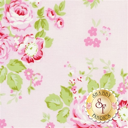 Rambling Rose PWTW129-PINK by Tanya Whelan for Free Spirit Fabrics