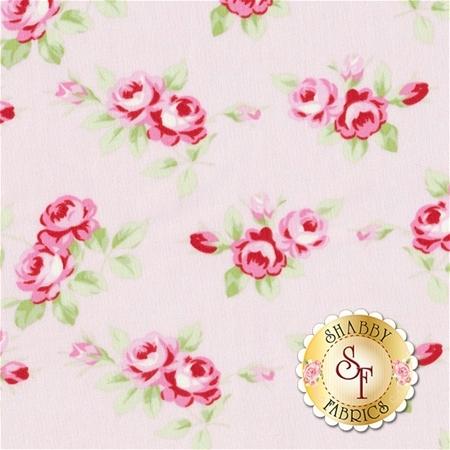 Rambling Rose PWTW131-PINK by Tanya Whelan for Free Spirit Fabrics