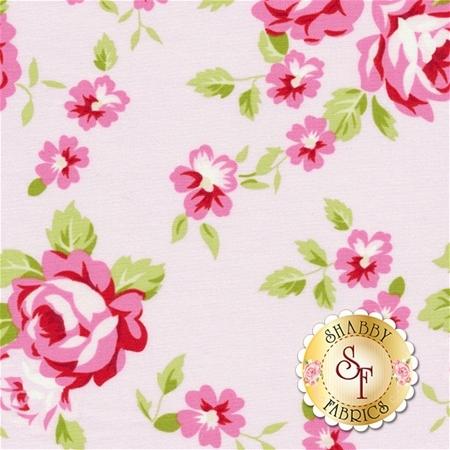 Rambling Rose PWTW133-PINK by Tanya Whelan for Free Spirit Fabrics