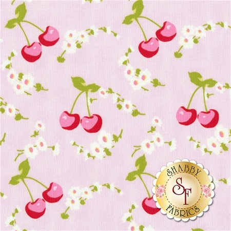 Rambling Rose PWTW134-PINK by Tanya Whelan for Free Spirit Fabrics