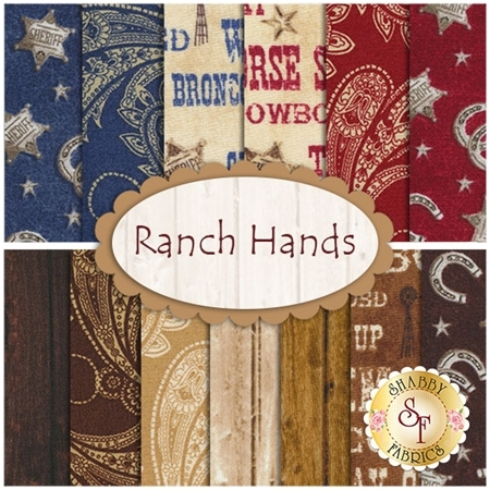 Ranch Hands 13  FQ Set by Windham Fabrics