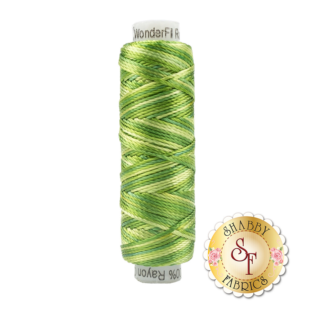 Razzle Thread RZM07 Leaves and Sprouts - 50 yds | Shabby Fabrics